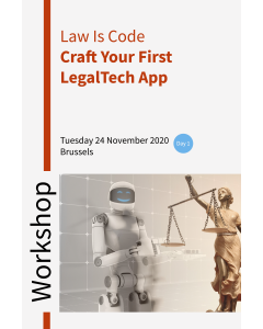 Workshop Law is Code – Craft your first LegalTech App