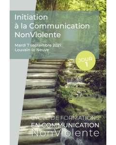 Formation – Initiation à la Communication NonViolente – Jour 1