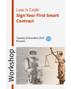 Workshop Law is Code – Sign your first smart contract