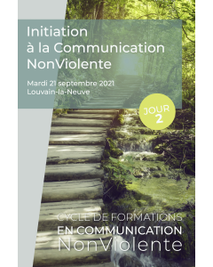 Formation – Initiation à la Communication NonViolente – Jour 2