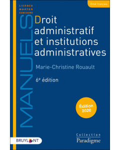 Droit administratif et institutions administratives