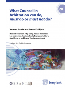What Counsel in Arbitration can do, must do or must not do?