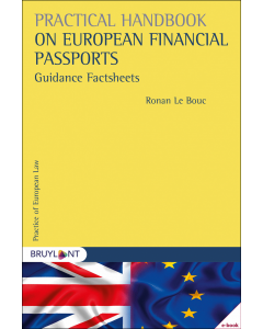 Practical Handbook on European Financial Passports