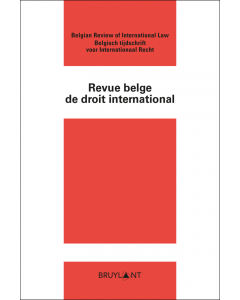 Revue belge de droit international (Rev. b. dr. Intern.)