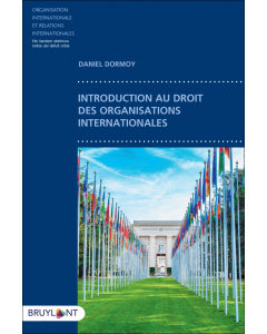 Introduction au droit des organisations internationales