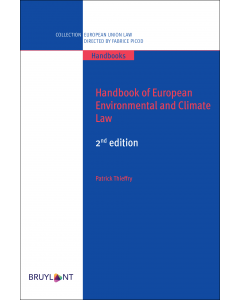Handbook of European Environmental and Climate Law