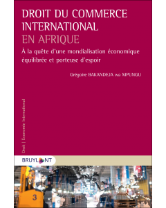 Droit du commerce international en Afrique