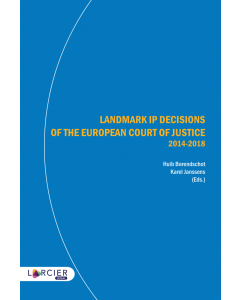 Landmark IP Decisions of the European Court of Justice (2014-2018)