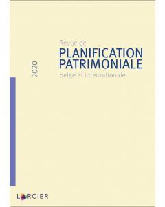 Revue de planification patrimoniale belge et internationale