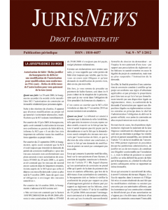 JurisNews – Droit administratif
