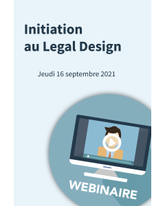 Webinaire - Initiation au Legal Design
