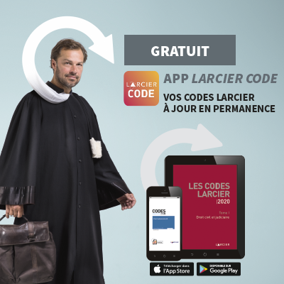 Application Code Larcier